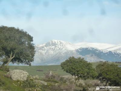 Puente de la Marmota - Parque Regional de la Cuenca Alta del Manzanares senderismo europa circuitos
